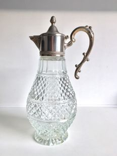 Claret Jug silver plated - Italy - 20th century