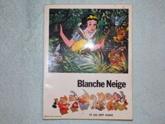Blanche Neige et les septs nains (Snow White and the and the seven dwarfs) - Chromolithographies book - Complete - B - Original Edition  Circa 1960/1980