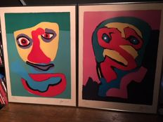 Karel Appel - Face / Personnage