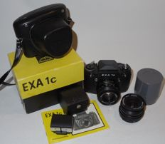 Ihagee Exa 1 c - single-lens reflex - 2 lenses - mid 1980s