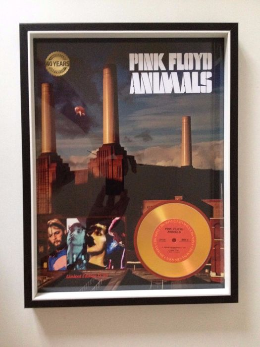 Pink Floyd Beautiful Framed & Mounted Display Ready To Hang