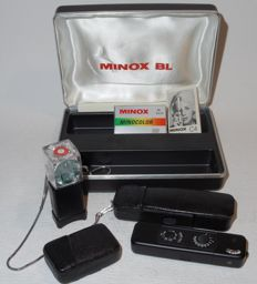 Minox BL - rare subminiature - black version - early 1970s