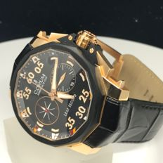 Corum - Admirals Cup Leap Second 48 Men's Watch - 895-931-91-0001-AN32 - Hombre - 2011 - actualidad