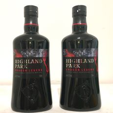 2 bottles - Highland Park Dragon Legend - Limited Edition