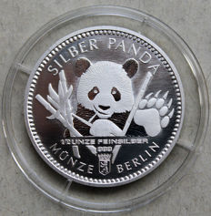"Germany - Berlin - bullion coin - Berlin ""Panda"" - Silver"