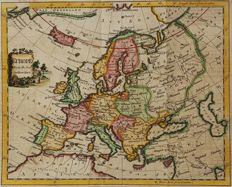 Europe; William Guthrie / Thomas Kitchin - Europe From the best Authorities - 1770