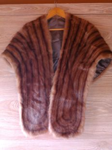 Alaska wild mink fur stole(female) -Ultimate luxury