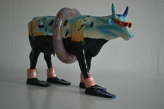 Cow parade - Robby Kulikov - Lucy in the Sky - limited edition - Large version