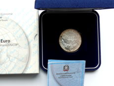 Italy - 10 Euro 2006 '60 years UNICEF' - silver
