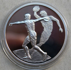 Greece - 10 euro 2004 'Olympic Games Athens / discus thrower' - silver