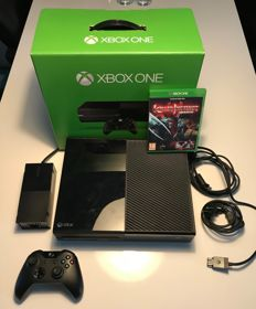 Xbox one boxed with controller and 1 game