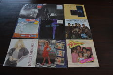 Very nice lot with true icons of the eighties! All singles in NM condition.
