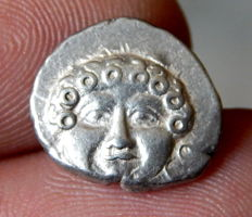 Greek Antiquity - Apollonia Pontika, Thrace - AR Drachm - Late 5th-early 4th century BC.