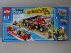 City - 66342 - Fire City Super Pack 3 in 1