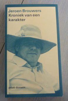 Jeroen Brouwers; Lot with 7 publications - 1979 / 1992