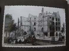 Attic find of album with 34 photos after the bombardment of Rotterdam