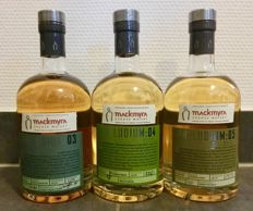 3 bottles - Mackmyra Preludium: 03, Mackmyra Preludium: 04 and Mackmyra Preludium: 05