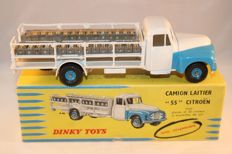 "Dinky Toys-France - Scale 1/48 - ""Camion Laitier ""55"" Citroën No.586"