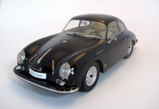 Premium Classixxs - Schaal 1/12 - Porsche 356A Coupe - Zwart/Black (Unique Edition)