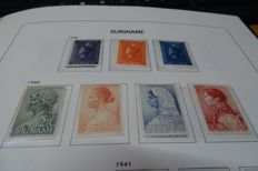 Suriname - Collection stamps, series, blocks and a few FDCs
