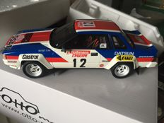 Otto Mobile - Scale 1/18 - Nissan 240 Rs Gr.B #12 Rally Tour De Corse 1983 - Tony Pond