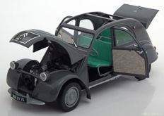Norev - Scale 1/18 - Citroën 2CV A 1950 - Grey