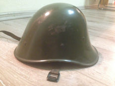 WW2 Romanian Royal army soldier helmet M39 Dutch Made, for Eastern Front