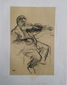 Edgar Degas (after) - le violoniste