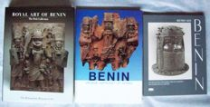 Lot with 4 books about the Art of Benin