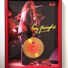Rory Gallagher Beautiful Framed & Mounted Display Ready To Hang