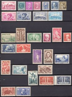 France 1933/1936 - 4 Complete Years