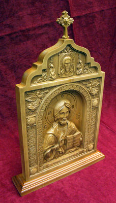 "Orthodox Carved icon  ""God Jesus""- Ukraine - 21 century"