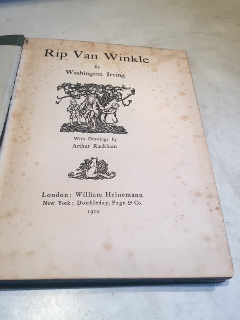 literary elements used washington irving rip van winkle Discover more about popular writer washington irving, author of the classic stories rip van winkle and the legend  and made him a literary star both in .