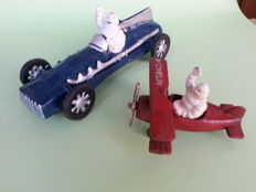 Vintage Michelin PromotingToys - 1980's - cast iron