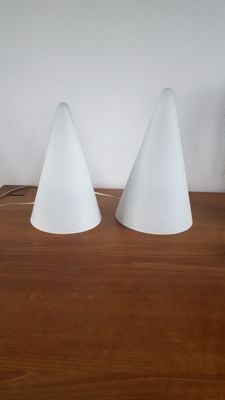 SCE France - 2 Teepee table lamps - XL and L