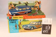 "Corgi Toys - Scale 1/43 - ""Ford Consul Cortina Super Estate Car with Golfer, Caddie Bag, Trolley & Bag"" No.440"