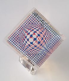 Victor Vasarely - Graphic Cube