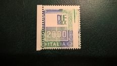 Italy Republic 1979 -  L.2000, with variety missing Siracusana  - Bolaffi N. 1539B