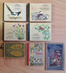 Flora & Fauna - Lot with 7 books about plants - 1901/1986