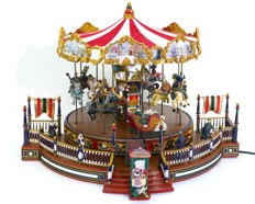 """Original musical Carousel """"Holiday around the carousel"""" (large model) by MR Christmas"""