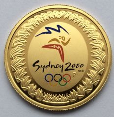Australia - 100 dollars 2000 'Olympic Games Sydney' - Gold
