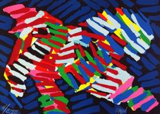 Karel Appel - Tibetan bird
