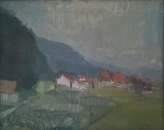 Unknown Artist - Panorama - Brittnau - Switzerland