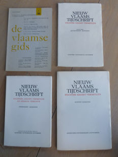 Signed; Lot with 4 publications and plays of Tone Brulin - 1959 / 1967