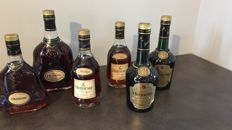Collection Cognac Hennessy - bottled 1990s