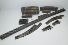 Fleischmann H0 - 6101/6120/6122/6131/6103/6142L/6142R/6114/6099/6106 - 47 piece package profirail with points sets