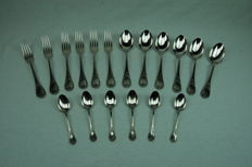 "18 pieced cutlery section ""Marly """