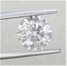 2.89 carat  - F color - I1 clarity  - Natural Diamond