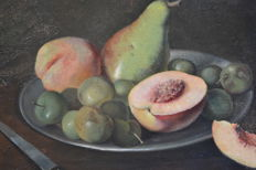 Lucien de Meüe (1911-1970) - Still life with fruits - Belgian school