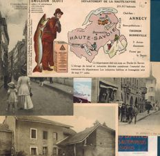 Postcards of Haute-Savoie, early 20th century